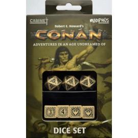 Conan: Player's Dice Set (Official Conan RPG Dice)