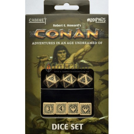 Conan: Player's Dice Set (Official Conan RPG Dice)