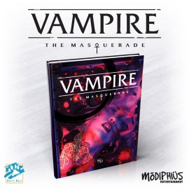 Vampire: The Masquerade 5th Ed. (Hardback, Full Color)