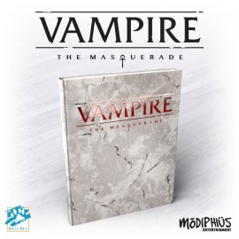 Vampire: The Masquerade 5th Ed. - Deluxe (Alt. Cover, Hardback, Full Color)