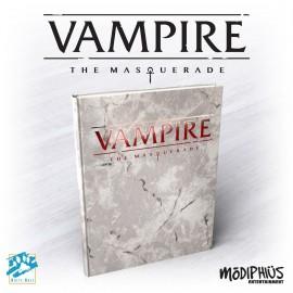Vampire: The Masquerade 5th Ed. - Deluxe (Alt. Cover, Hardback, Full Color)