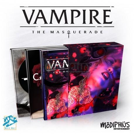 Vampire: The Masquerade 5th Ed. Slipcase Set (3 Books in Slipcase)