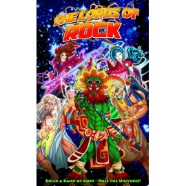 Lords of Rock (Boxed Card Game)