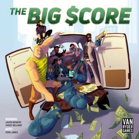 The Big Score (Boxed Board Game)