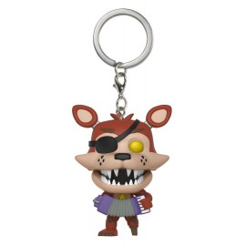 Pop! Keychain: FNAF- Pizza Sim- Rockstar Foxy