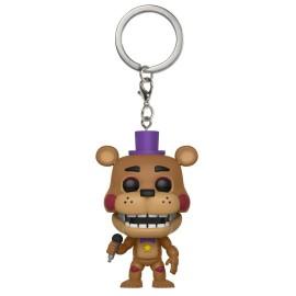 Pop! Keychain: FNAF- Pizza Sim- Rockstar Freddy