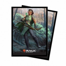 MTG Core Set 2019 V5 Deck Protector Sleeves 80p