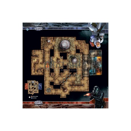 Star Wars: Imperial Assault: Lothal Wastes Skirmish Map