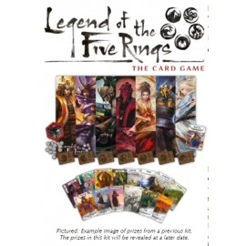 Legend of the Five Rings: The Card Game 2018 Season Four Stronghold Kit