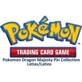 Pokemon Dragon Majesty Pin Collection—Latias/Latios
