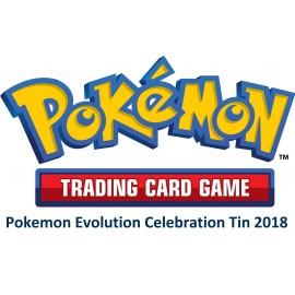 Pokemon Evolution Celebration Tin 2018