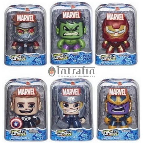 Marvel Mighty Muggs assortment 6 pieces