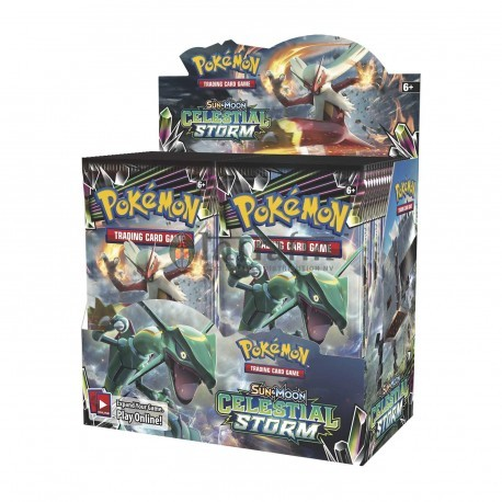 Pokémon Sun & Moon 7 Celestial Storm Booster Display (36) Eng