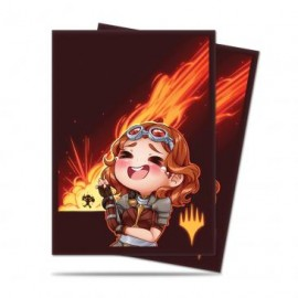 MTG Chibi Collection Chandra - LOL! Standard Deck Protector sleeves 100ct