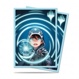MTG Chibi Collection Jace - Mystic Standard Deck Protector sleeves 100ct
