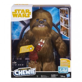 Han Solo - Chewbacca Interactieve Plush / Interactif