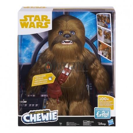Han Solo - Chewbacca Interactieve Plush / Interactif