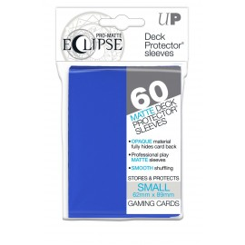 Pro Matte Eclipse Pacific Blue Small deckpro sleeves 60ct