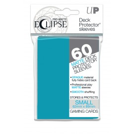 Pro Matte Eclipse Sky Blue Small deckpro sleeves 60ct