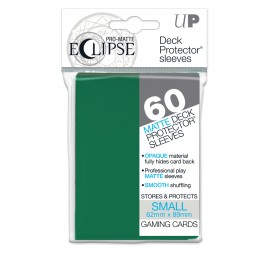 Pro Matte Eclipse Forest Green Small deckpro sleeves 60ct