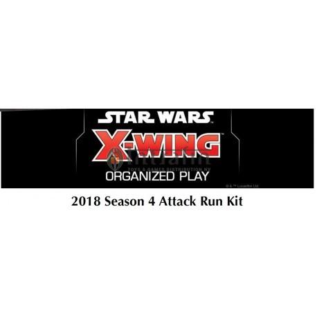 Star Wars X-wing 2018 Season 4 Attack Run Kit