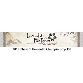 Legend of the Five Rings: The Card Game 2019 Elemental Championship Kit 1
