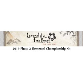 Legend of the Five Rings: The Card Game 2019 Phase 2 Elemental Championship Kit
