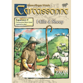 Carcassonne Exp. 9: Hills & Sheep