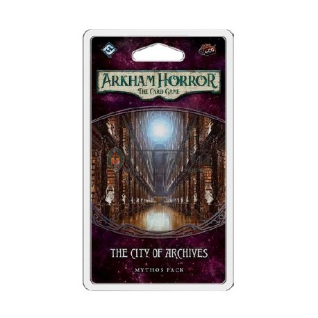 The City of Archives Mythos Pack FFGAHC23 Arkham Horror LCG