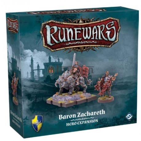 Runewars Miniatures Games: Baron Zachareth Expansion Pack