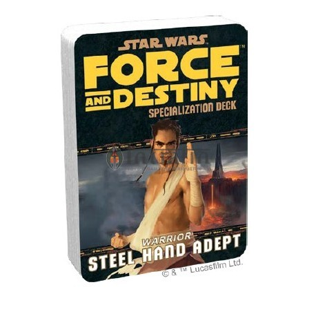 Star Wars: Force and Destiny: Steel Hand Adept Specialization Deck