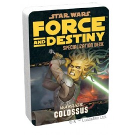 Star Wars: Force and Destiny: Colossus Specialization Deck