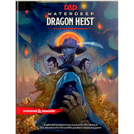 Dungeons & Dragons Next Waterdeep Dragon Heist book