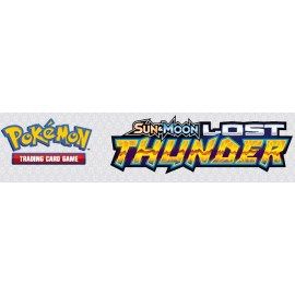 Pokémon Sun & Moon 8 Lost Thunder booster piece (1) Eng