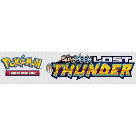 Pokémon Sun & Moon 8 Lost Thunder booster piece (1) Eng