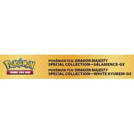 Pokémon Dragon Majesty Special Collection - Salamence/White Kyurem GX