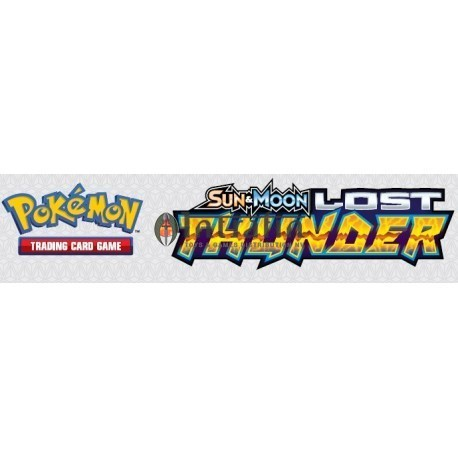 Pokemon Sun & Moon 8 Lost Thunder Launch Display