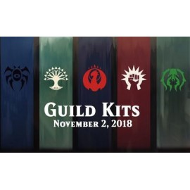 MTG Guilds of Ravnica Guild Kit display (5) French