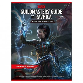 Dungeons & Dragons Guildmaster's Guide to Ravnica Map pack
