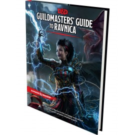 Dungeons & Dragons Next Guildmaster's Guide to Ravnica RPG book