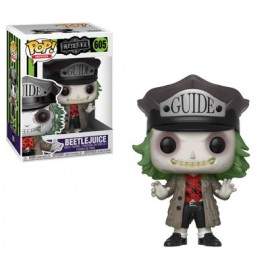 Horror 605 POP - Horror S5 - Beetlejuice with Hat
