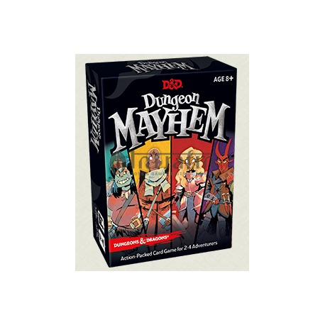Dungeon Mayhem Card game English