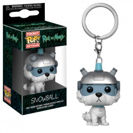 POP Keychain - Rick and Morty - Snowball