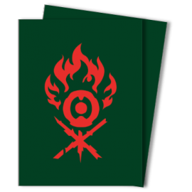 MTG Guilds of Ravnica: Gruul Clans 100ct Deck Protectors