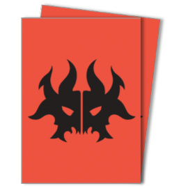 MTG Guilds of Ravnica: Cult of Rakdos 100ct Deck Protectors