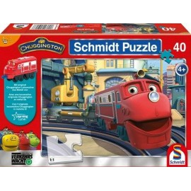 Puzzle Chugginton Red (40)