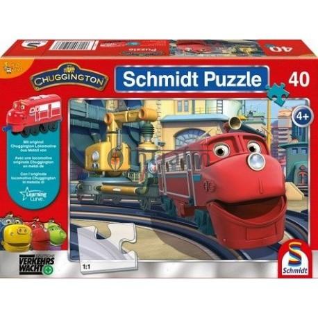 Puzzle Chugginton Red (40)