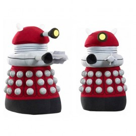 "Doctor Who Talking 24"" Plush Burgundy Dalek with LED light-u"