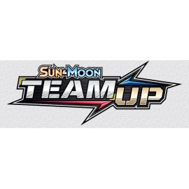 Pokemon Sun & Moon 9 Team up Launch Display