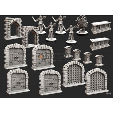 Folklore Terrain (Miniatures pack) 2nd Edition